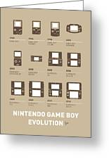 My Evolution Nintendo Game Boy Minimal Poster Greeting Card by Chungkong Art