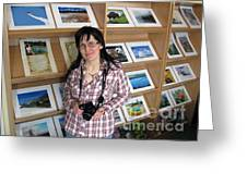 My First Personal Photo Show 2013 Greeting Card by Ausra Paulauskaite