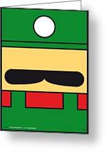 My Mariobros Fig 02 Minimal Poster Greeting Card by Chungkong Art