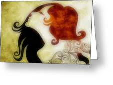 My Prince Will Come For Me 1 Greeting Card by Angelina Vick