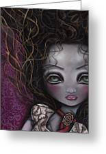 My Surrender Greeting Card by  Abril Andrade Griffith
