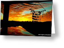My View Greeting Card by Beth Hughes