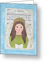 My Wonderful Lord  Greeting Card by J D  Fields