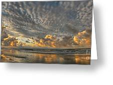 Myrtle Beach Panorama 2 Greeting Card by Jeff Breiman