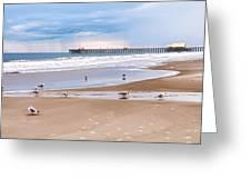 Myrtle Beach - Rainy Day Greeting Card by Scott Hansen