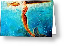 Mystic Mermaid II Greeting Card by Shijun Munns