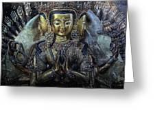 Mystical India Greeting Card by Joachim G Pinkawa