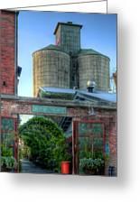 Napa Mill Greeting Card by Bill Gallagher