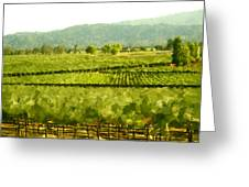 Napa Greeting Card by Paul Tagliamonte
