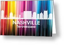 Nashville Tn 2 Greeting Card by Angelina Vick