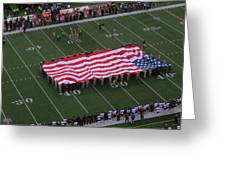 National Anthem Greeting Card by Dan Sproul