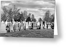 National Cemetery - Gettysburg Battlefield Greeting Card by Brendan Reals