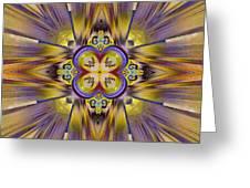 Native American Spirit Greeting Card by Deborah Benoit