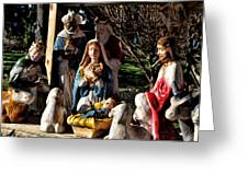 Nativity Greeting Card by Bill Cannon