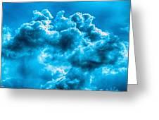 Natural Abstract Creations No 101 Greeting Card by Bob and Nadine Johnston