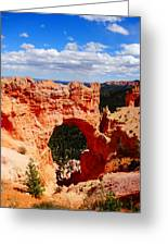 Natural Bridge In Bryce Canyon National Park Greeting Card by Dan Sproul
