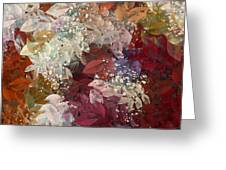 Naturaleaves - 88c02 Greeting Card by Variance Collections