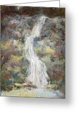 Nature's Own- Unframed With Gold Leaf By Vic Mastis Greeting Card by Vic  Mastis