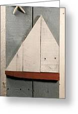 Nautical Wood Art 01 Greeting Card by John Turek