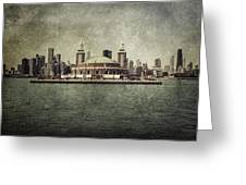 Navy Pier Greeting Card by Andrew Paranavitana