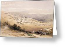 Nazareth Greeting Card by David Roberts