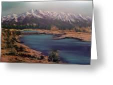 Near Jasper Alberta Greeting Card by Fiona Graham