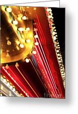 Neon Vegas Greeting Card by John Rizzuto