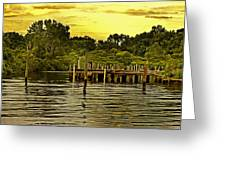 Neshaminy State Park Greeting Card by Tom Gari Gallery-Three-Photography