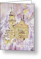 Neuschwanstein Castle Greeting Card by Helena Bebirian