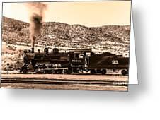 Nevada Northern Railway Greeting Card by Robert Bales