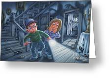 Never Alone Greeting Card by Phil Wilson