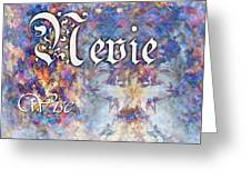 Nevie - Wise Greeting Card by Christopher Gaston
