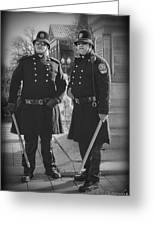 New Age Coppers Greeting Card by Pic'd by T Photography
