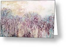 New England Landscape No.100 Greeting Card by Sumiyo Toribe
