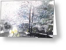 New England Landscape No.222 Greeting Card by Sumiyo Toribe