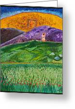 New Jerusalem Greeting Card by Cassie Sears
