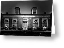 New Orleans- A Skull Paradise Greeting Card by Christine Till