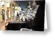 New Orleans - City At Night - 121212 Greeting Card by DC Photographer