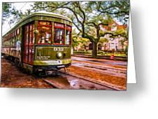 New Orleans Classique Oil Greeting Card by Steve Harrington