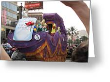 New Orleans - Mardi Gras Parades - 121228 Greeting Card by DC Photographer