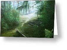 New Orleans Swamp Greeting Card by Susan Moore