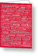 New York 20130709p120 Greeting Card by Wingsdomain Art and Photography