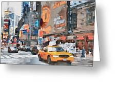 New York 6 Greeting Card by Yury Malkov