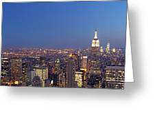 New York City Greeting Card by Juergen Roth