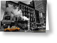 New York City - Lower Manhattan 006 Greeting Card by Lance Vaughn