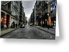 New York City - Soho 003 Greeting Card by Lance Vaughn