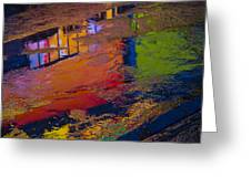 New York Reflections Greeting Card by Garry Gay