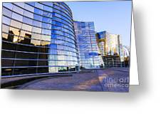 New Zealand Christchurch Art Gallery Greeting Card by Colin and Linda McKie