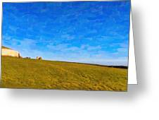 Newgrange - Ancient Observatory In Ireland Greeting Card by Mark E Tisdale