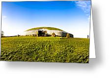 Newgrange - Mystery Of The Irish Boyne Valley  Greeting Card by Mark E Tisdale